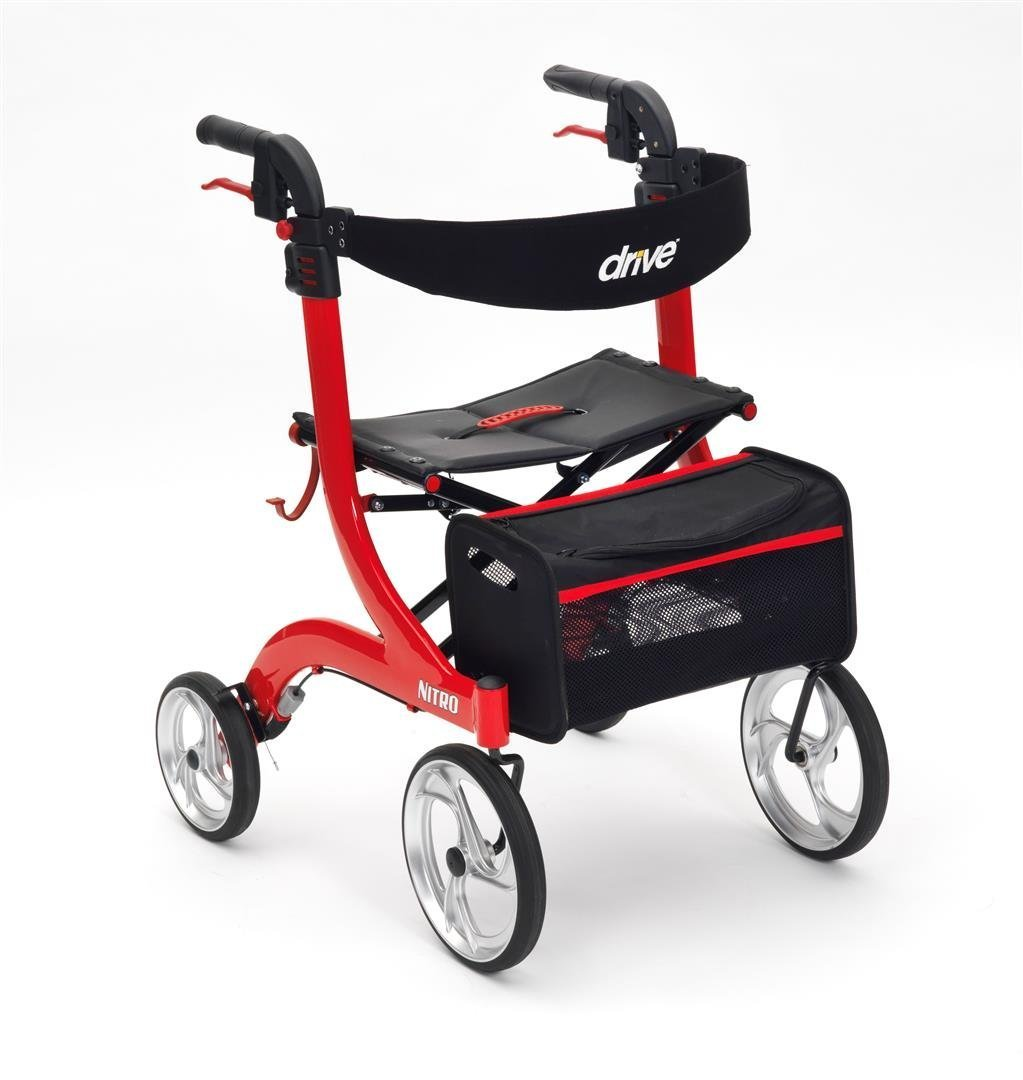 Nitro Four Wheel Walker With Seat Review Shop Disability
