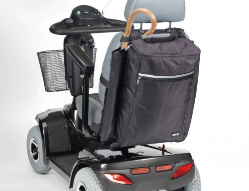 Mobility Scooter Crutch Holder