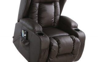 caesar recliner chair with heat