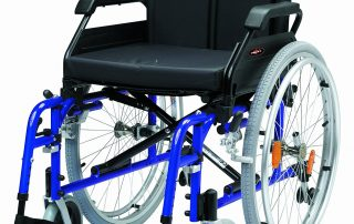 aluminium self propel wheelchair