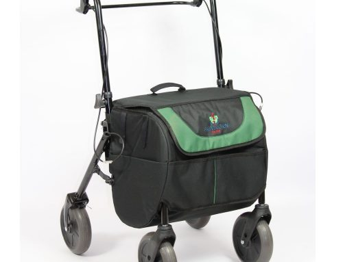 Rollator Shopping Trolley Combo