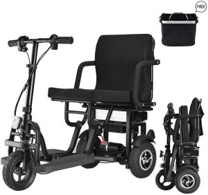 wisging folding mobility scooter